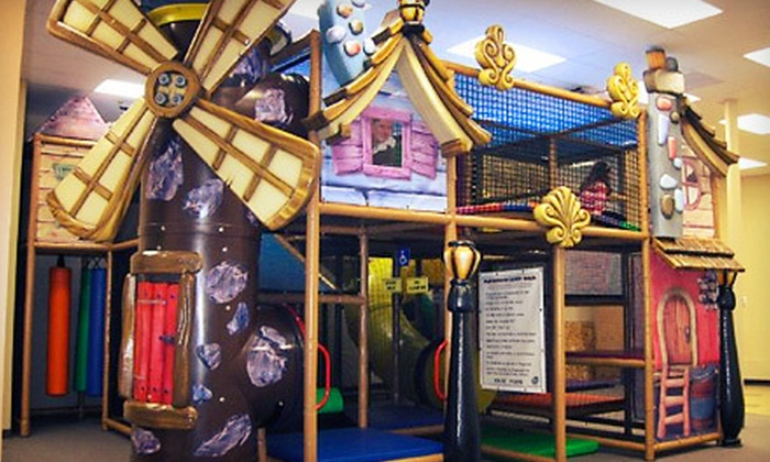 Aplaydia Indoor Playground and Ivy School of Music - Bedford: Indoor Play Visits at Aplaydia Indoor Playground and Ivy School of Music (Up to 57% Off). Three Options Available.