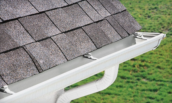 Lombardo Roofing & Exteriors - Wall: Gutter Cleaning for Up to 2,000, 4,000, or 6,000 Square Feet from Lombardo Roofing & Exteriors (Up to 79% Off)