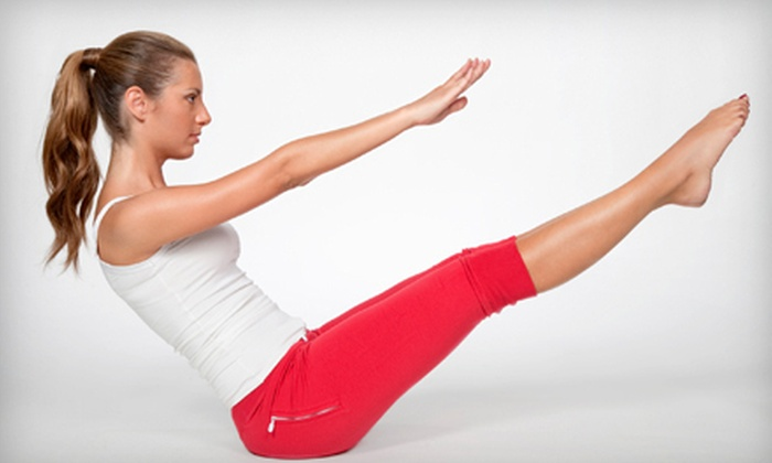 Range - Park City: $60 for Four Mat Pilates Classes and One Private Session at Range in Park City ($130 Value)