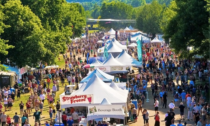 The Bite of Oregon - Tom McCall Waterfront Park: $7.50 for The Bite of Oregon on August 7–9 ($15 Value)