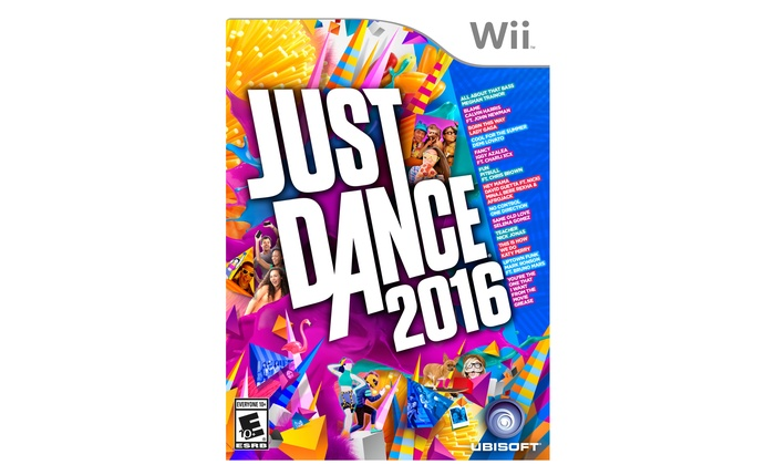 Just Dance 2016 for Wii/Wii U/Xbox 360/or Xbox One