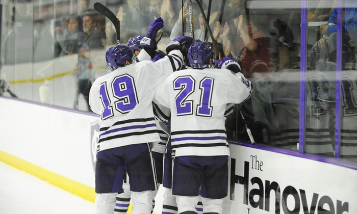 Holy Cross Athletics - Hart Center: $27 for Tickets for Two to a Holy Cross Men's Basketball Game and Hockey Game on Valentine's Day ($54 Value)