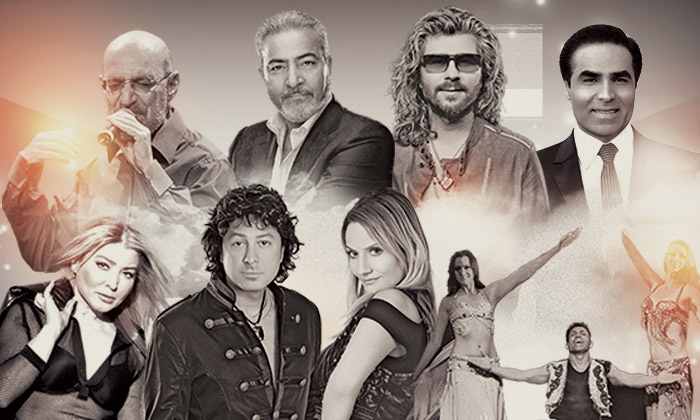Heart of Persia feat. Siavash Ghomayshi & More - Irvine Meadows Amphitheatre: Heart of Persia Festival Featuring Siavash Ghomayshi, Sattar, Omid, and More on Saturday, September 26 (Up to 44% Off)