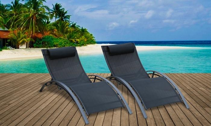 Bain de soleil en textilène   Groupon Shopping e95e5929aa7c