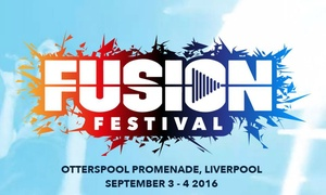 Fusion Festival: Fusion Festival: Day Ticket, 3–4 September at Otterspool Promenade (Up to 40% Off)