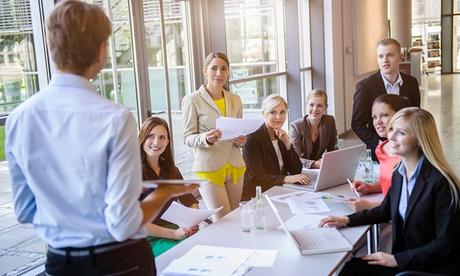 Máster online en gestión y dirección de equipos por 249 € con ENEB Oferta en Groupon