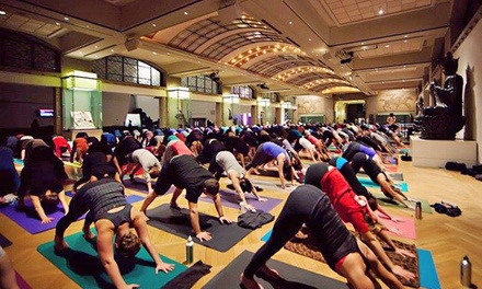 10 Hot Yoga Classes or One Month of Unlimited Classes at Iam Yoga (Up to 70% Off)