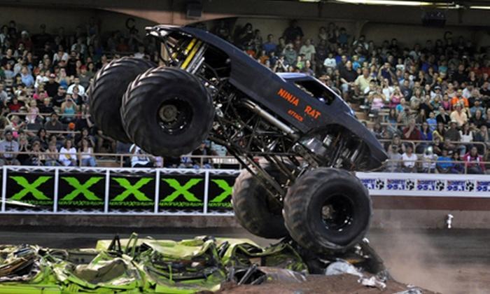 Tournament of Destruction - Tucson Rodeo Grounds: $18 for Tournament of Destruction Monster-Truck Event on October 4 or 5 at Tucson Rodeo Grounds (Up to $37 Value)