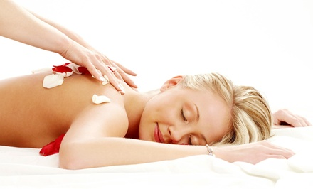 A 60Minute FullBody Massage at Katie Meo (45% Off)