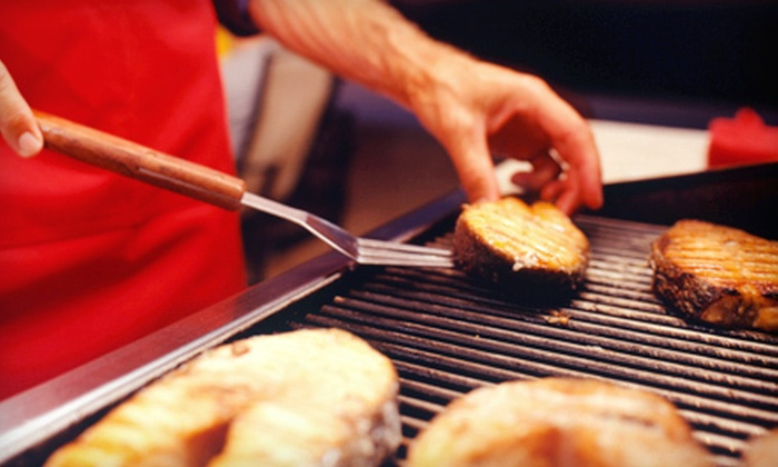Warehouse Discount Center - Multiple Locations: 1.5- or 3-Hour Grilling Class for One or Two at Warehouse Discount Center (Up to 54% Off)