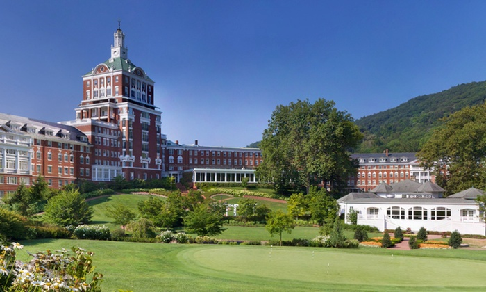 The Homestead - Hot Springs, VA: Two-Night Stay at The Homestead in Hot Springs, VA