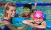 SafeSplash Swim School - San Diego: One Month of Weekly Swim Lessons for One or Two Kids at SafeSplash Swim School