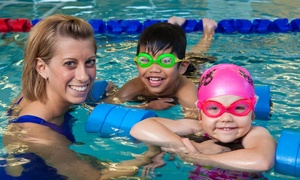SafeSplash Swim School: Lessons for One or Two Kids at SafeSplash Swim School (Up to 50% Off). Choose from 17 Locations.