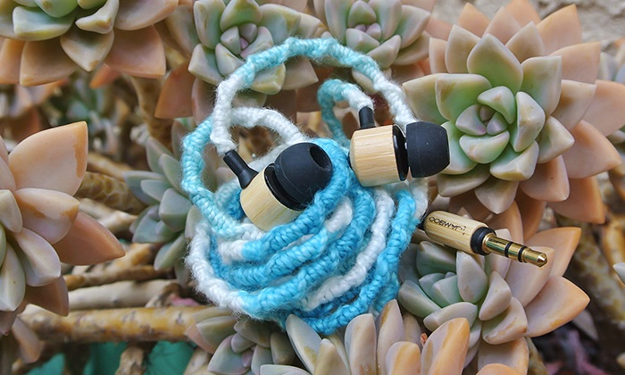 Eco-Friendly Bamboo Headphones: 21% Off Eco-Friendly Headphones from Jamboo Headphones