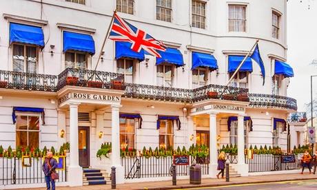 Londres: estancia para 2 personas con opción desayuno, té de la tarde, cena y copa de vino en London Elizabeth Hotel 4*