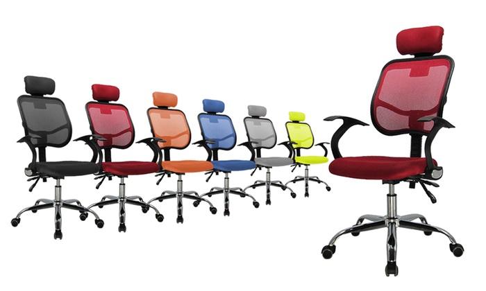 Sedia da ufficio con ruote | Groupon Goods
