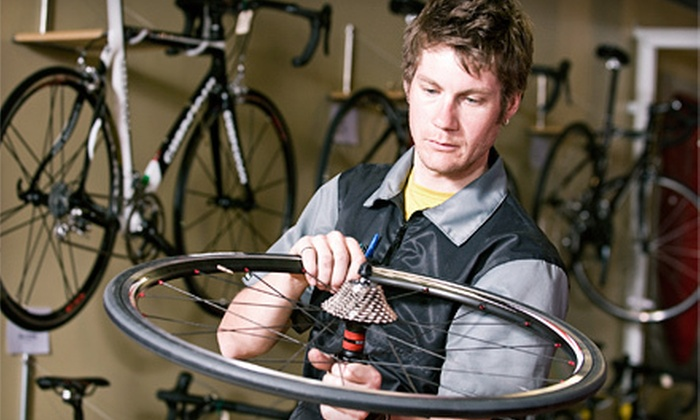 Tri Sport Bicycles - Woodward Park: Basic or Full Bicycle Tune-Up at Tri Sport Bicycles (Up to 51% Off)