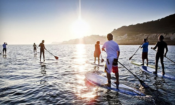 Alpine Accessories - Lake in the Hills: $29 for a 90-Minute Standup-Paddleboard Lesson with Equipment Rental at Alpine Accessories ($64 Value)