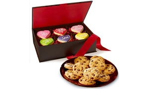 Cookies by Design: $25 for Valentines Day Conversation Hearts Premium Box from Cookies by Design ($50 value)