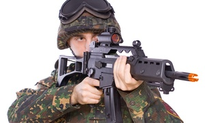 Liberty Paintball: Airsoft Package for One or Two, Including Gun and Gear Rentals at Liberty Paintball (Up to 47% Off)