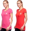 2-Pack Beverly Hills Club Women's Athletic V-Neck T-Shirts