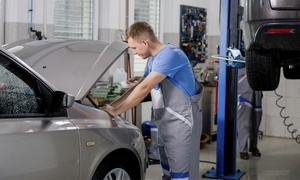 Empire Garages: MOT with Free Re-Test at Award Winning Empire Garages (51% Off)