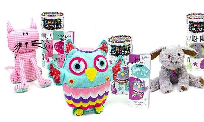 Make Your Own Plush Toy | Groupon Goods