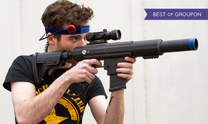 CMP Tactical Lazer Tag: Laser-Tag Session or Party Package at CMP Tactical Lazer Tag (Up to 55% Off). Four Options Available.