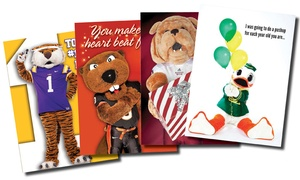 Waffle Prints: $15 for $26 Worth of College Sports-Themed Greeting Cards from Waffle Prints