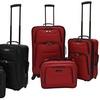 U.S. Traveler Delmont 3-Piece Expandable Luggage Set