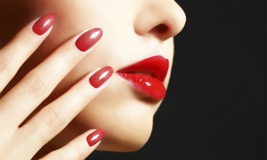 Miss Lola Beauty Lounge & Lash Bar: Express Shellac - $19 Manicure, $25 Pedicure or $39 for Both at Miss Lola Beauty Lounge & Lash Bar (Up to $80 Value)