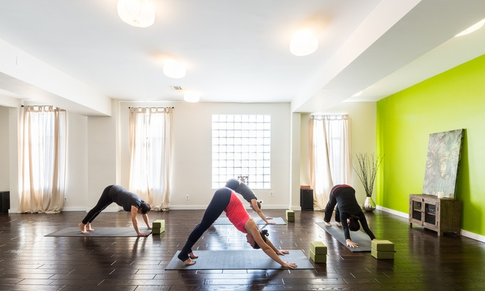 Yoga in the Heights - The Heights: Up to 79% Off 5 or 10 Yoga Classes at Yoga in the Heights