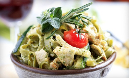Italian Cuisine at Gio\'s Italian Restaurant (Up to 54% Off). Three Options Available.