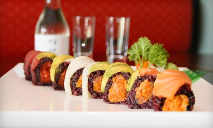 Maki Sushi & Noodle Shop - Park Ridge: Sushi and More at Maki Sushi & Noodle Shop (Up to 58% Off). Two Options Available.