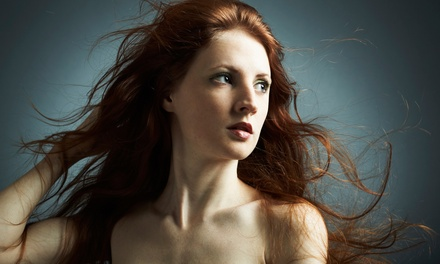 Haircut and Condition with Color or Highlights at Cutting Edge at Salon 990 (Up to 73% Off)
