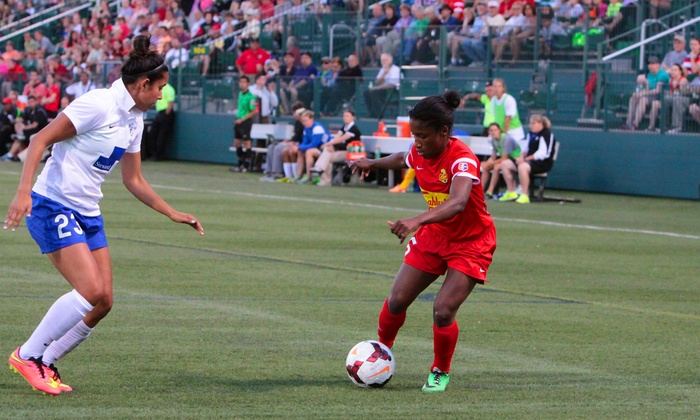 Western NY Flash Soccer - Sahlen's Stadium: Western New York Flash Women's Soccer Game at Sahlen's Stadium on May 2, 8, or 23 (Up to 58% Off)