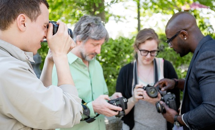 Intro to DSLR Photography, or Two- or Four-Hour Private Lesson from Creative Digital Workshops (Up to 51% Off)