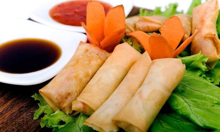 Sunrise Asian Cuisine - Highlands: $12 for $20 Worth of Asian Cuisine at Sunrise Asian Cuisine