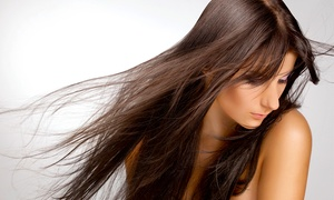 Top Cuts Hair Salon: Wash and Blowout with Optional Haircut and Color Service at Top Cuts Hair Salon (Up to 56% Off)