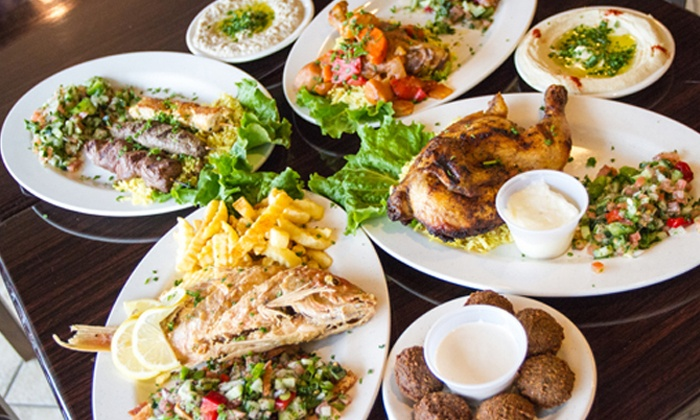 Ameer's Mediterranean Grill - North Druid Hills: Dinner and Drinks for Two or Four at Ameer's Mediterranean Grill (Up to 52% Off)