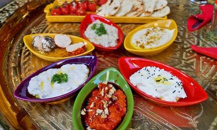 Onbeperkt Arabische tapas eten voor 2 tot 4 personen bij Restaurant Topkapi