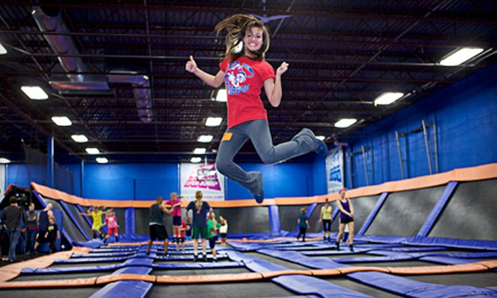 Sky Zone Canton - Sky Zone Canton: Jump Time for Two, Birthday Party for Up to 10, or Toddler Time Membership at Sky Zone Canton (Half Off)