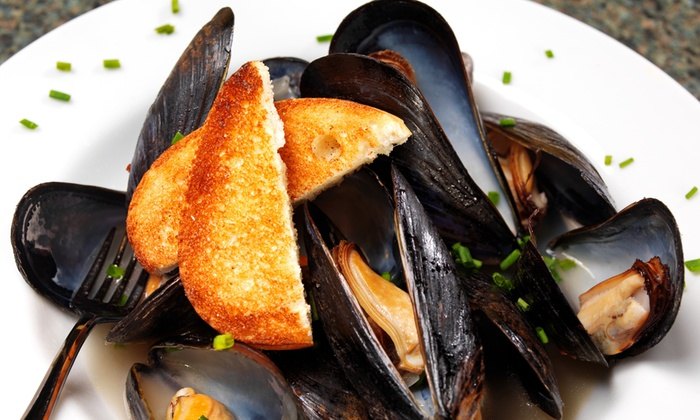 Mannequin Pis - Olney: $40 for Mussels and Beer for Two at Mannequin Pis (Up to $72 Value)