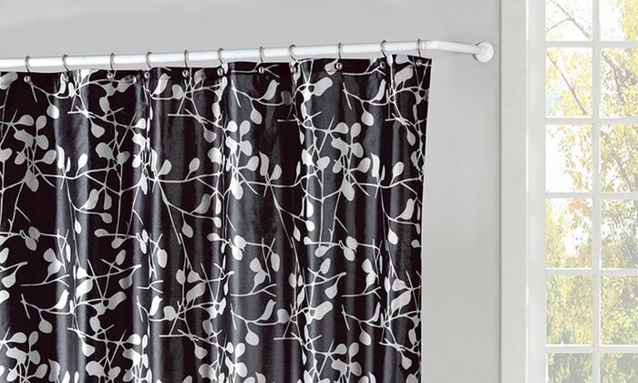 72x72 Faux Silk Shower Curtain