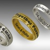 $24.99 for a Personalized Band or Spinner Ring