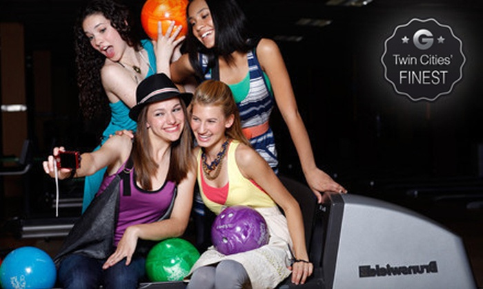 Brunswick Bowling - Multiple Locations: Bowling Package with Shoe Rental for One or Up to Four at Brunswick Zone (Up to 69% Off)
