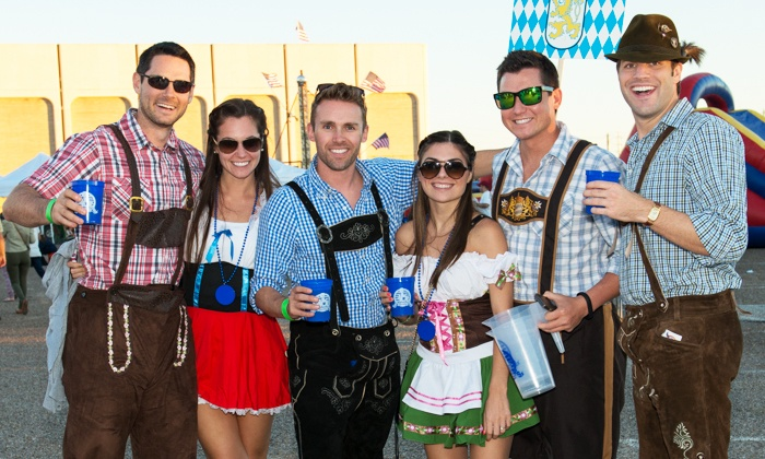 Oktoberfest Houston - Lazy Brook - Timbergrove: Admission and Beer Samples for Two or Four to Oktoberfest Houston (Up to 33% Off)