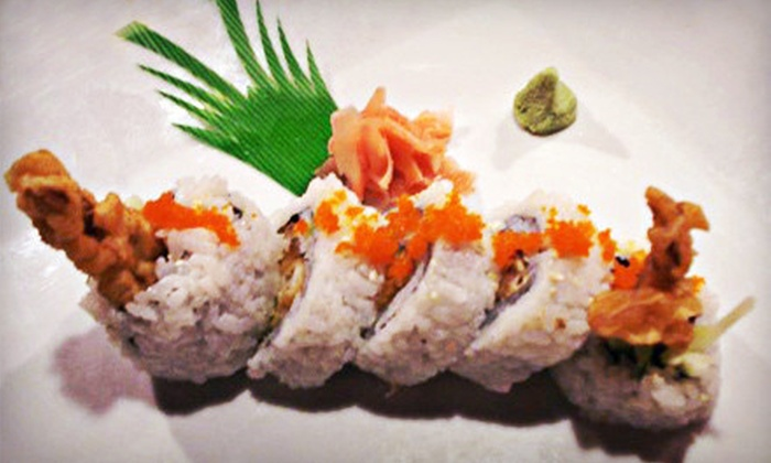 Ukiyoe - Arbor Lodge: Sushi and Japanese Food for Dinner for Two or Four at Ukiyoe (Half Off)