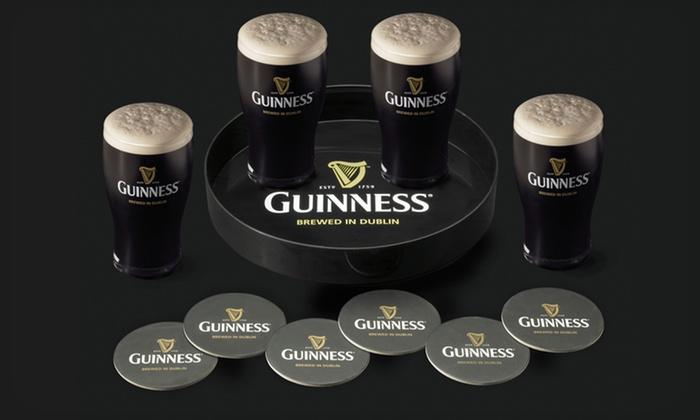 11-Piece Guinness Serving Set: $13.99 for an 11-Piece Guinness Serving Set ($35 List Price). Free Returns.