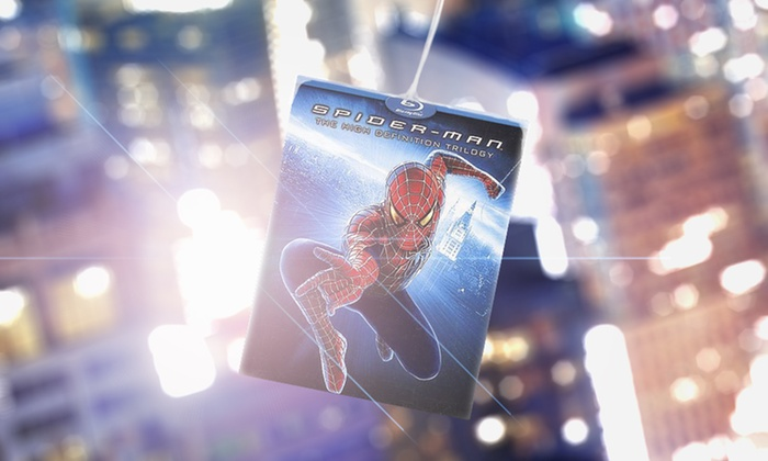 Spider-Man: The High Definition Trilogy on Blu-ray: Spider-Man: The High Definition Trilogy on Blu-ray